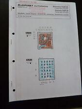 Original Service Manual  Blaupunkt Autoradio Düsseldorf SQR49 Granada SQR 49