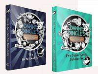 Danny Dingle's Fantastic Finds 2 Books Set The Metal-Mobile,The Super Sonic Subm