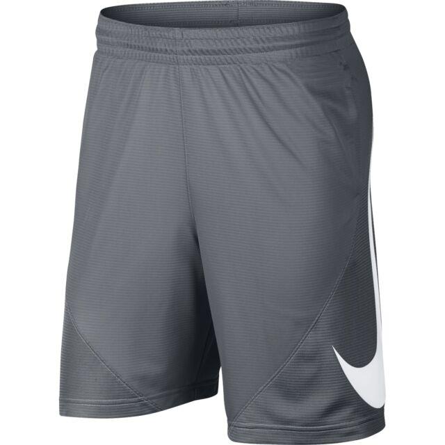 c00fdba45 Buy Nike Men s HBR Basketball Shorts Cool Grey Size Large Standard Fit  online