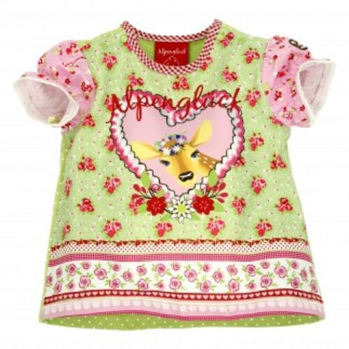 Bondi 85403 Baby MädchenTrachten Tshirt T-shirt Alpenglück Neu 62 68 74 80 86