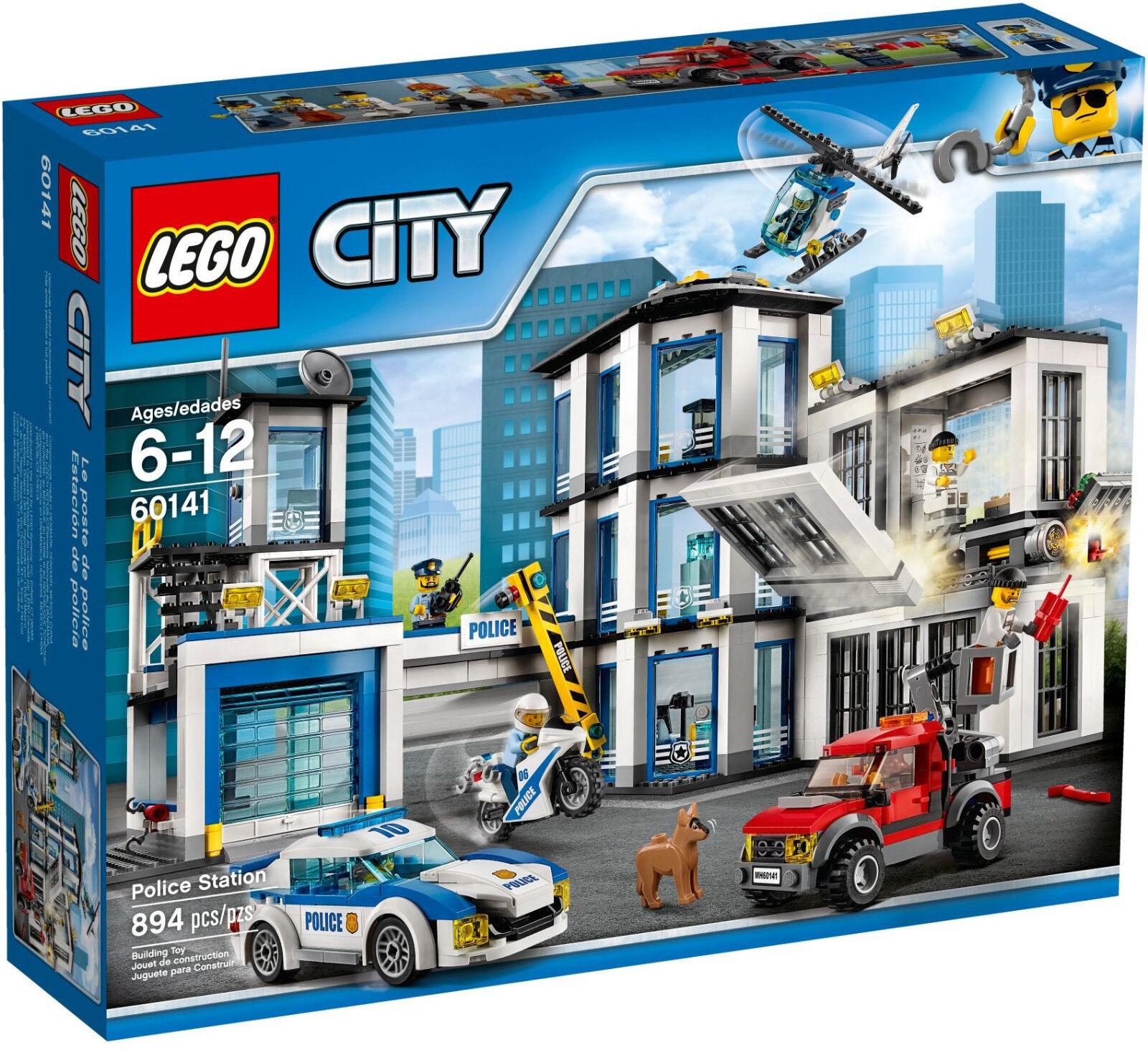 Lego  60141  Police Station  Serie City Mai Aperto  Visita il mio Negozio