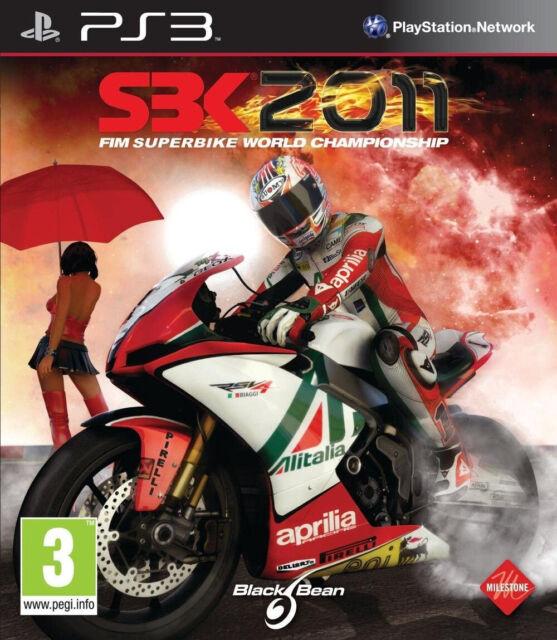 SBK 2011 Fim Superbike World Championship Jeu Sony Playstation 3 PS3 Occasion FR
