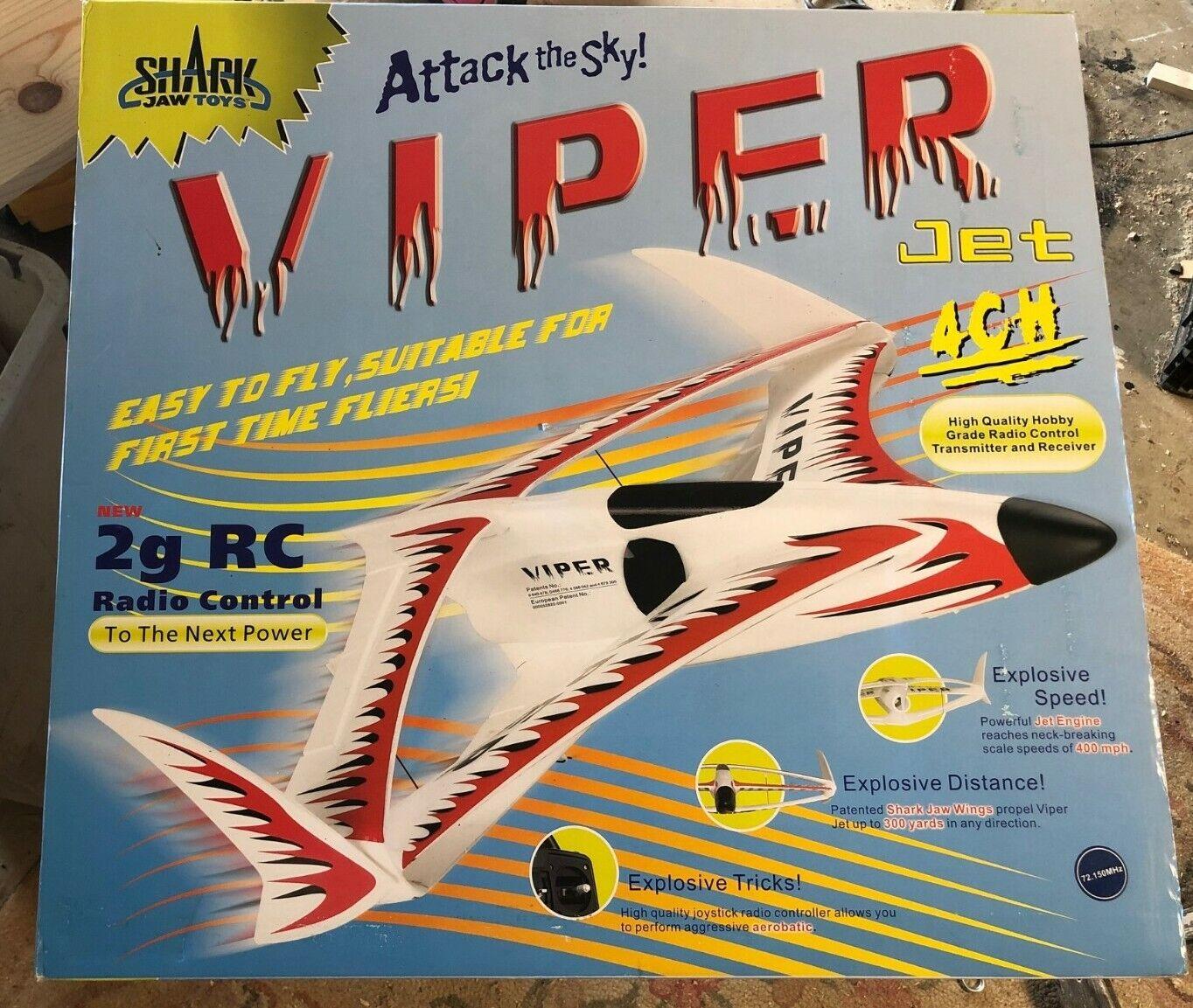 Shark Mandíbula Juguetes Radio Control Viper Jet