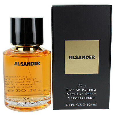 Jil Sander No. 4 EDP spray Perfume 3.4oz / 100ml New in Box