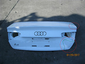AUDI-A4-REAR-TRUNK-LID-LIFT-GATE-OEM-USED-STOCK-2013-2016-64805