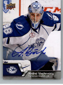 2014-15-Upper-Deck-AHL-Autographs-Stickers-Patch-Cards-Pick-From-List