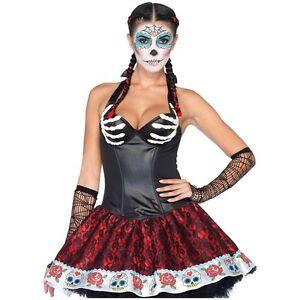 Bony Skeleton Hands Corset Top Dia de Muertos Day of the Dead ...
