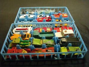 Lot-of-18-Vintage-Lesney-and-Hot-Wheels-Cars-Trucks-and-a-Boat