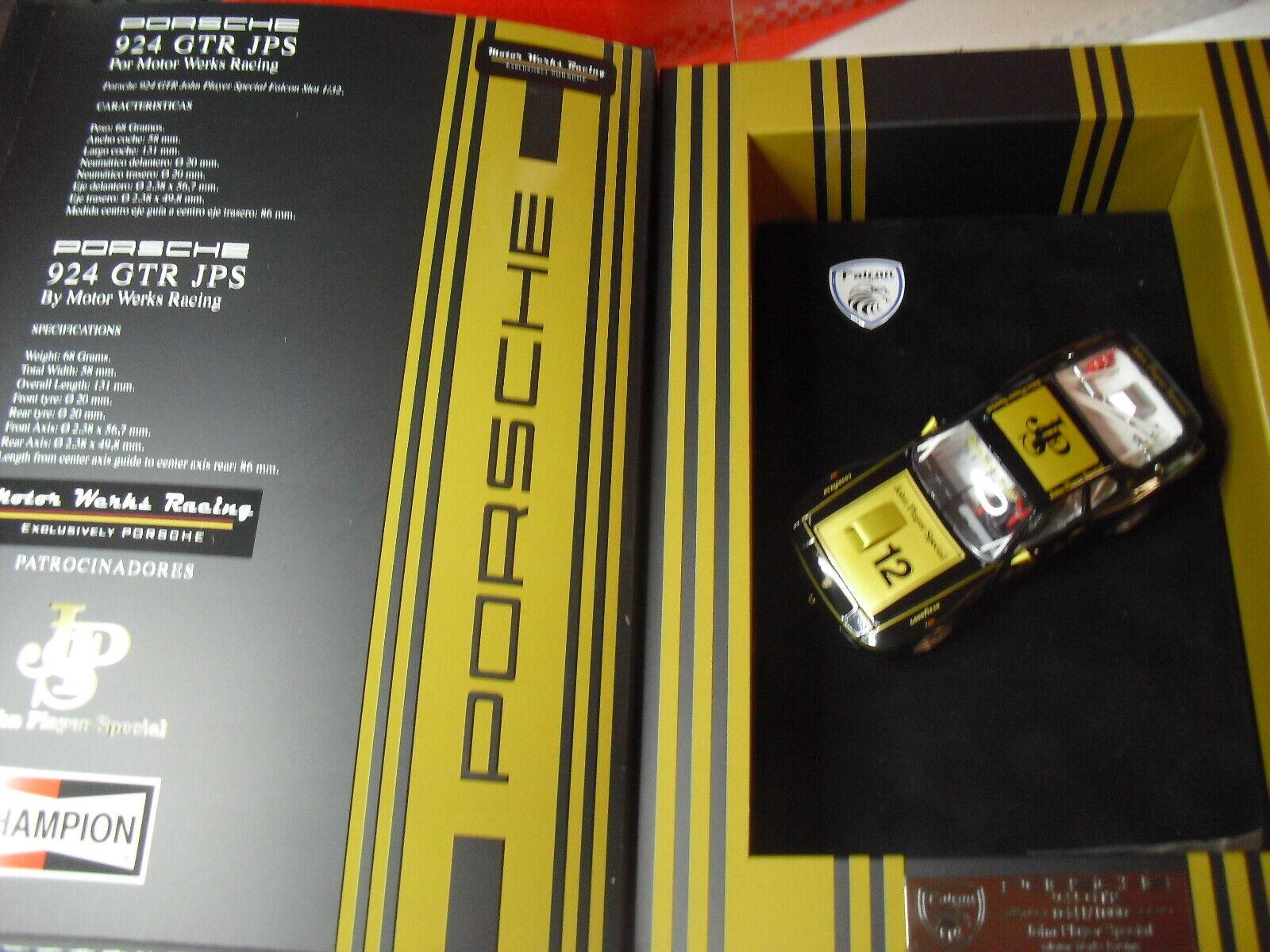 09FA2 Falcon Slot Porsche 924 Jps John Player Ausgabe limitierte only 1000 unt