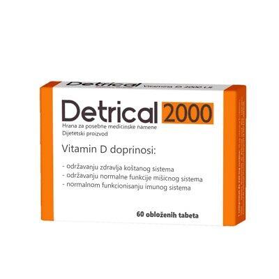 Detrical D3 IU 60 comprimate » Pret 20,71Lei • Puterea Plantelor
