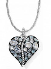 NWT Brighton TRUST YOUR JOURNEY Aqua Blue Crystal COLLAR Necklace MSRP $188