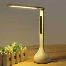 Adjustable USB Rechargeable New Touch Sensor LED Desk Table Lamp Reading Light