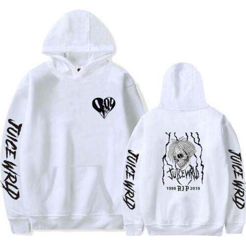 Juice Wrld Rapper Hoodie Men/'s Womens Hip Hop Casual Sweatshirt Hooded Pullover