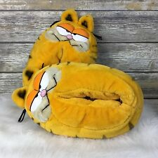 Vintage Garfield Slippers House Shoes Adult Size M Medium 7-8 1981 Men Women