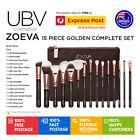 ZOEVA 15PCS Rose Golden Cosmetic Complete Eye Makeup Brush Set Kit V1 AUS STOCK