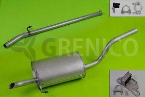Komplette-Auspuffanlage-ab-Kat-Montagesatz-RENAULT-CLIO-II-CAMPUS-1-2-98-13