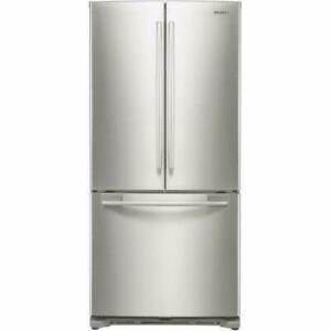 Réfrigérateur de 17,5 pi³ à portes françaises acier inoxidable Samsung ( RF18HFENBSR ) City of Montréal Greater Montréal Preview