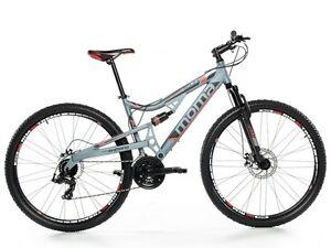 Bicicletta-Montagna-Mountain-Bike-29-034-MTB-Allum-Shimano-24v-2xDisco-Full-Sosp