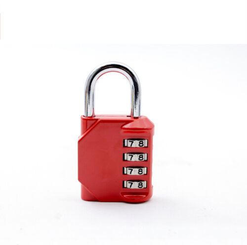 """Gym 4 Dial Number Combination PadlockFor Sheds Toolbox,4Color,8cm Large 3.2/"""""""