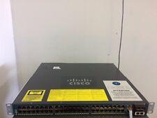 CISCO WS-C4948-E 48-Port Gigabit Layer 3 Switch entservices-15.0 ios 4948 2xPWR