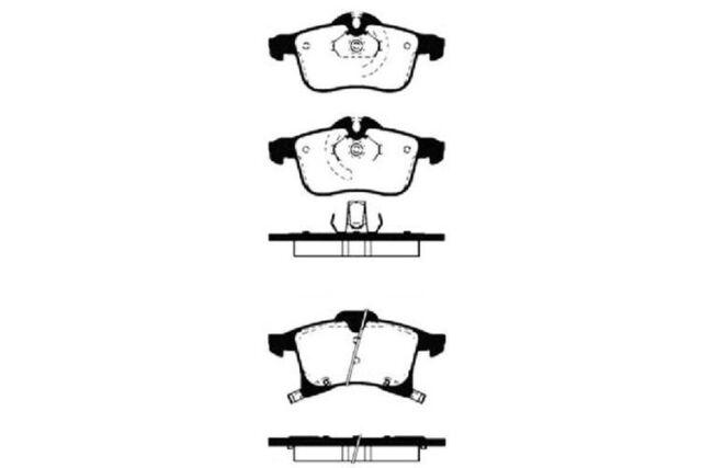 4x NK Bremsbeläge vorne Für OPEL ASTRA ZAFIRA MERIVA 223633
