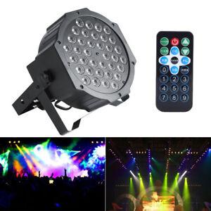 72W-RGB-LED-DMX-Buehnenbeleuchtung-Buehnenlicht-DJ-Disco-Party-Lichteffekt-Lampe