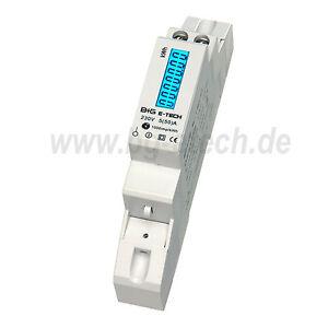 LCD digitaler Wechselstromzähler Stromzähler 5(50)A S0 LCD Hutschiene - Lauchhammer, Deutschland - LCD digitaler Wechselstromzähler Stromzähler 5(50)A S0 LCD Hutschiene - Lauchhammer, Deutschland