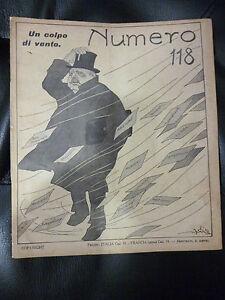 NUMERO-rivista-satirica-illustrata-prima-guerra-mondiale-Golia-Brunelleschi