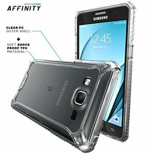 Pour-Samsung-Galaxy-On5-Shockproof-360-Pare-chocs-TPU-Cover-Case-Clear