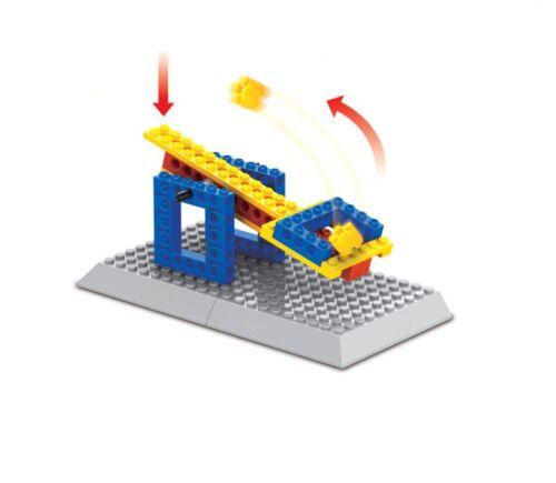 Axes and Gears BricTek Ingenius Bulding Block Construction Brick Toy 42302