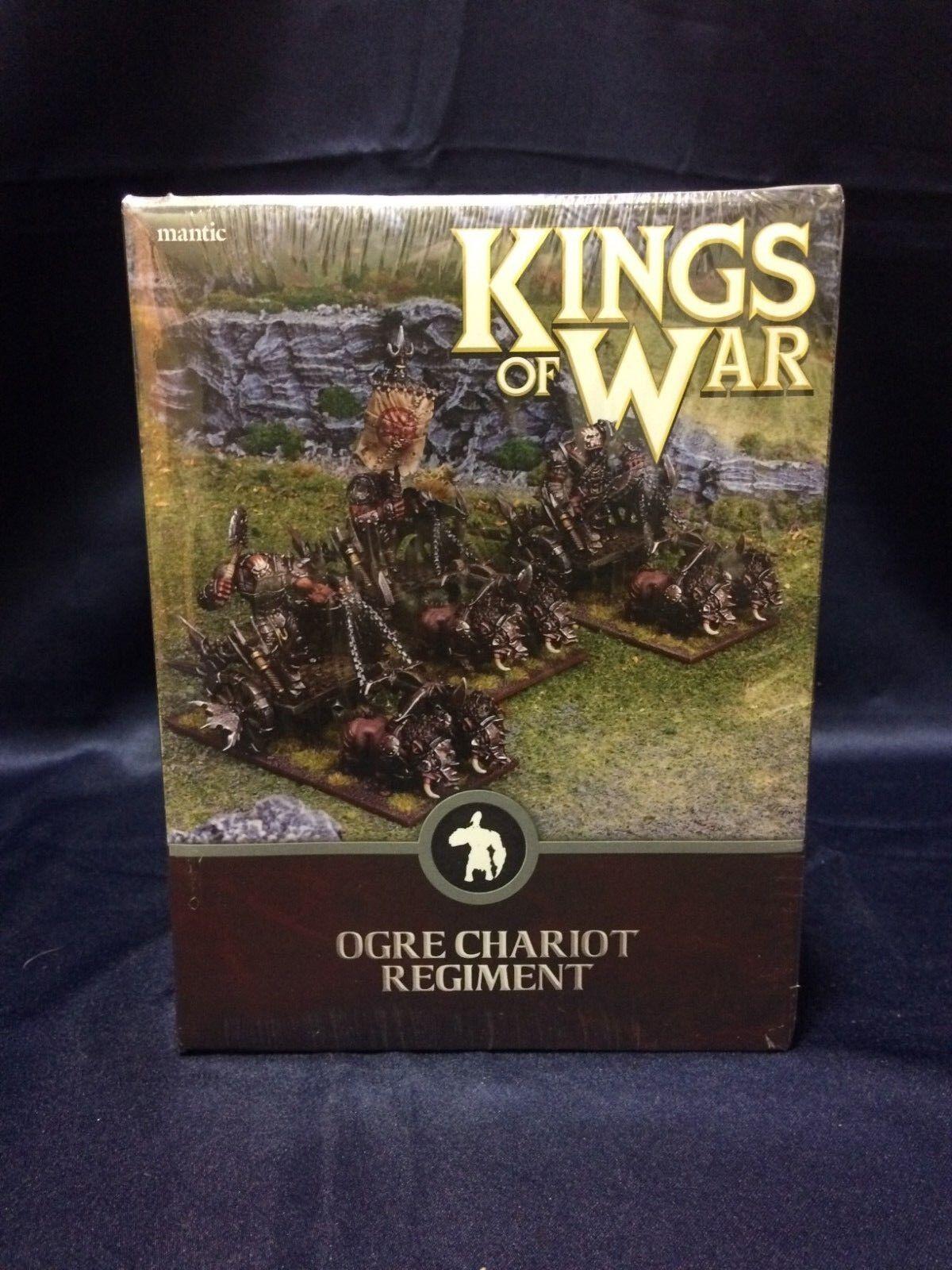 Kings of War Ogre Chariot Regiment Miniature