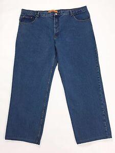 Vagabond-jeans-uomo-W46-tg-62-gamba-dritta-accorciati-usati-boyfriend-blu-T2043