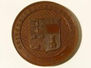 1886 ABERDEEN UNIVERSITY - HENRY WATT Natural History Cased Medal Kirkwood #T10*