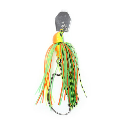 spinner fishing lures bass crankbait crank bait tackle hook mixed colour Bn