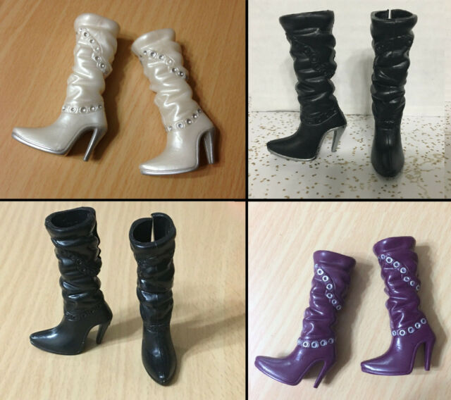 CHOOSE Barbie My Scene Doll Shoes High Heel Point Toe Flower Ankle Boots