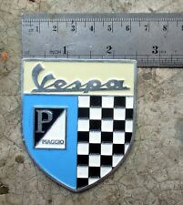 VINTAGE Vespa Placca Badge PLAKETTE PX 50 125 150 200 CLUB RACING TUNING CUSTOM
