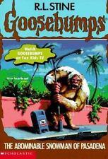The Abominable Snowman of Pasadena (Goosebumps, No 38) Stine, R. L. Paperback