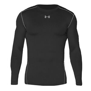 Compression 1265650 Crew Armour 001 Black Shirt Coldgear Longsleeve Herren Under OqE8ZUwx8