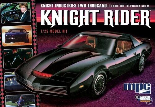 Knight Rider's KITT 1982 Pontiac Firebird 1 25 Scale MPC Plastic Kit MPC806