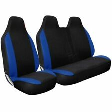 SEAT COVERS CAMOUFLAGE CAMO BLUE HEAVY DUTY 2+1 FOR RENAULT TRAFIC 2002 DCI