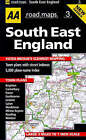 South East England by AA Publishing (Sheet map, folded, 1997)