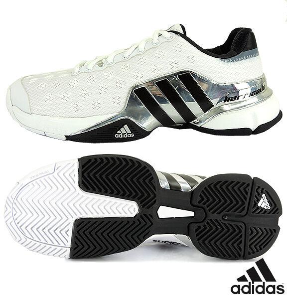 NIB MENS ADIDAS BARRICADE B44440 TENNIS SHOES Sneakers Trainers reg  150