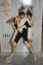 1/6 ZMDC Zero Metal Chronicle White FALCON GIRL Z1 Complete Suit Damaged 12""