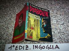 DIABOLIK PRIMA 1° SERIE ORIGINALE N.11 DEL 1963 INGOGLIA M/BUONO TIPO KRIMINAL