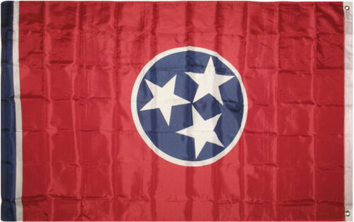 3x5 State of Tennessee Flag 3/'x5/' house Banner Super Polyester Grommets Premium