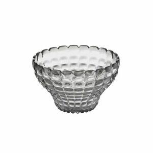 Guzzini-Schale-Tiffany-12cm-anthrazit-grau-Mueslischale-Servierschale-Schuessel