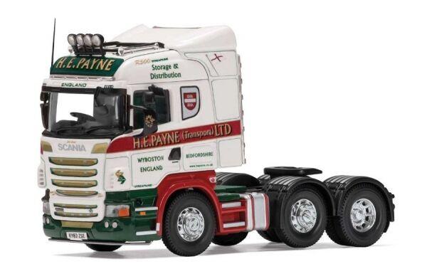Scania R Rigid Tractor H. E. PAYNE (Transport) Ltd (Tractor)