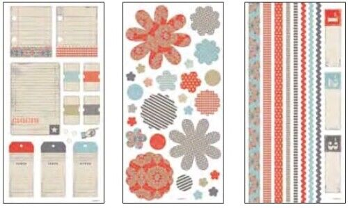 Stampin/' Up Simply Scrappin/' Tickets /& Tags Scrapbook Kit