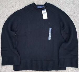 NWT-WOMENS-Polo-Ralph-Lauren-Knit-Sweater-CREW-NECK-Sweatshirt-Cotton-S-M-L-XL