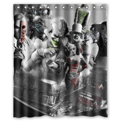 """Harley Quinn Waterproof  60/""""x 72/"""" Shower Curtain Bath"""